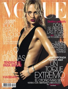 Karmen Pedaru - Vogue Espana August 2013