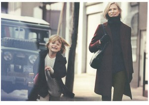 Christina Kruse and August for Gant Fall/winter 2013 Capaign